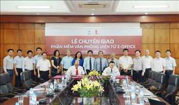 EVN chuyển giao phần mềm E-office cho Trường Đại học Bách Khoa Hà Nội