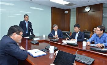 106 lãnh đạo công ty điện lực thi tìm hiểu pháp luật và Quy chế quản lý nội bộ EVN