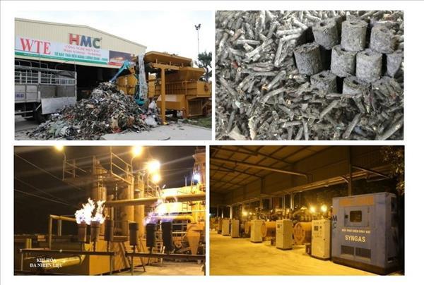 Chuyển hoá rác công nghiệp, nylon thành điện năng – Điện rác