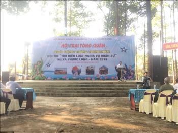 Phước Long: Khai mạc Hội trại tòng quân và khởi động tháng thanh niên năm 2019.
