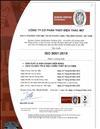 Giấy chứng nhận ISO 9001:2015