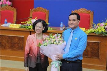 Đồng chí Nguyễn Đình Khang được bầu là Chủ tịch Tổng Liên đoàn Lao động Việt Nam nhiệm kỳ 2018 - 2023