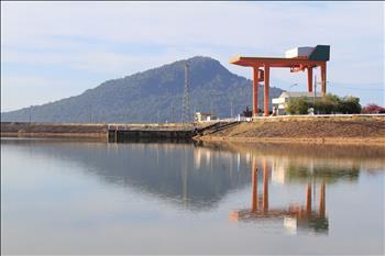Mực nước hồ nhà máy thuỷ điện Thác Mơ xuống mức 199m