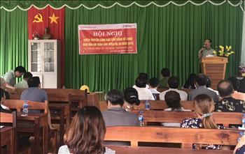 Thuỷ điện Thác Mơ tổ chức hội nghị tuyên truyền cảnh báo hạ du