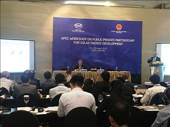 Hội thảo APEC về đối tác công - tư cho phát triển năng lượng mặt trời