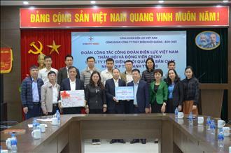 Công đoàn Điện lực Việt Nam: Thăm hỏi, tặng quà người lao động tại 36 đơn vị nhân dịp Tết Canh Tý 2020