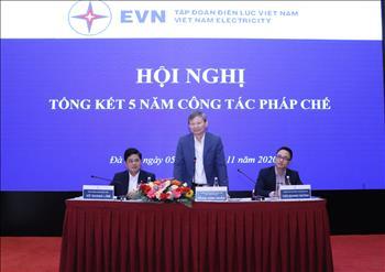 Tập đoàn Điện lực Việt Nam thực hiện tốt công tác pháp chế trong giai đoạn 2016 - 2020