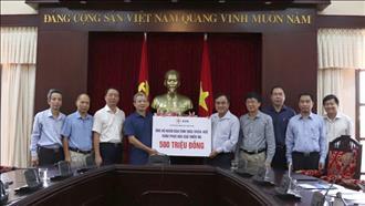 Sau 9 ngày phát động, EVN đã quyên góp ủng hộ đồng bào miền Trung bị thiệt hại lũ lụt được hơn 26 tỷ đồng