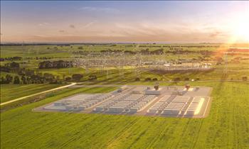 Australia phát triển siêu pin 300 megawatt