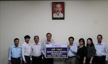 Tổng công ty Phát điện 2 hỗ trợ 500 triệu đồng phòng, chống dịch COVID-19