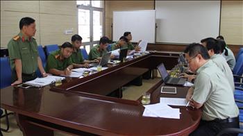 Tiếp và làm việc với Đoàn thanh tra 194 Công an tỉnh Bình Phước về công tác PCCC