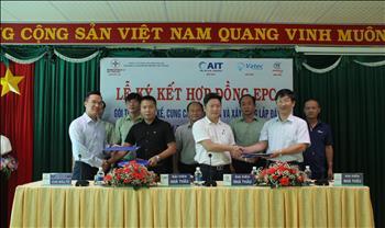 Lễ ký kết hợp đồng EPC nhà máy điện mặt trời Thác Mơ 50MWp