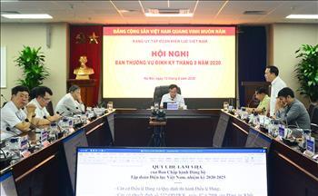 Công bố quyết định chuẩn y Ban Thường vụ, Ban chấp hành Đảng bộ EVN nhiệm kỳ 2020-2025