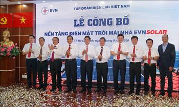 EVN công bố nền tảng điện mặt trời mái nhà EVNSOLAR