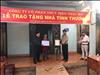 Công ty Cổ phần Thủy điện Thác Mơ bàn giao nhà tình thương tại xã Đức Hạnh, huyện Bù Gia Mập, tỉnh Bình Phước