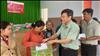 Công ty Cổ phần Thuỷ điện Thác Mơ trao tặng 250 phần quà cho đồng bào nghèo, các đối tượng bảo trợ xã hội tại các địa phương thuộc huyện Bù Đăng, huyện Bù Gia Mập và thị xã Phước Long tỉnh Bình Phước nhân dịp đón Xuân Tân Sửu 2021