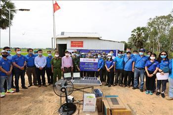 Đoàn cơ sở Tổng công ty Phát điện 2 hỗ trợ lực lượng phòng, chống dịch COVID-19 trên biên giới tỉnh An Giang