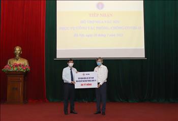 Tập đoàn Điện lực Quốc gia Việt Nam ủng hộ 30 tỷ đồng cho Quỹ vắc-xin phòng chống COVID-19