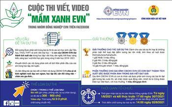 Phát động hưởng ứng Cuộc thi viết trên NHÓM ĐỒNG NGHIỆP EVN nhân Tháng hành động vì trẻ em và Ngày gia đình Việt Nam
