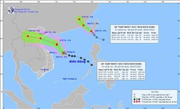 Áp thấp nhiệt đới có thể mạnh lên thành bão, EVN yêu cầu các đơn vị thành viên chủ động ứng phó