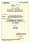 MSC nhận chứng chỉ ISO/IEC 17025:2005